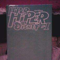 Tebeos: HIPER HIPER DISNEY Nº 1 ED PRIMAVERA 580 PÁGINAS - CONTIENE HIPER DISNEY NºS 1 Y 2. Lote 58825186