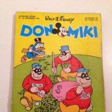 Tebeos: DON MIKI Nº 49. MONTENA 1977. Lote 59371425