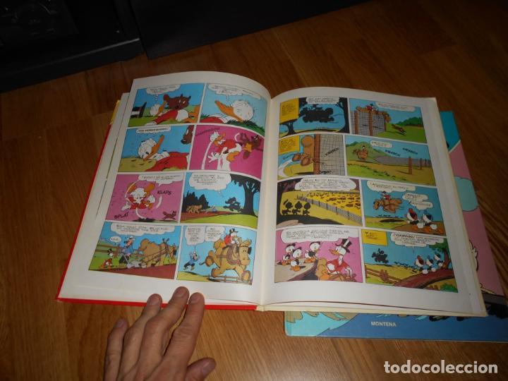 Tebeos: WALT DISNEY PATO DONALD EDIT. MONTENA NºS 1 Y 3 DONALD JEFE BOMBEROS 1ª EDICION 1980 PERFECTOS - Foto 5 - 62332452