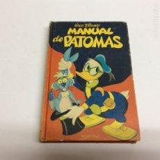 Tebeos: MANUAL DE PATOMAS. WALT DISNEY. -ED. EDICIONES MONTENA. FJ ALLENDE. Lote 63574339