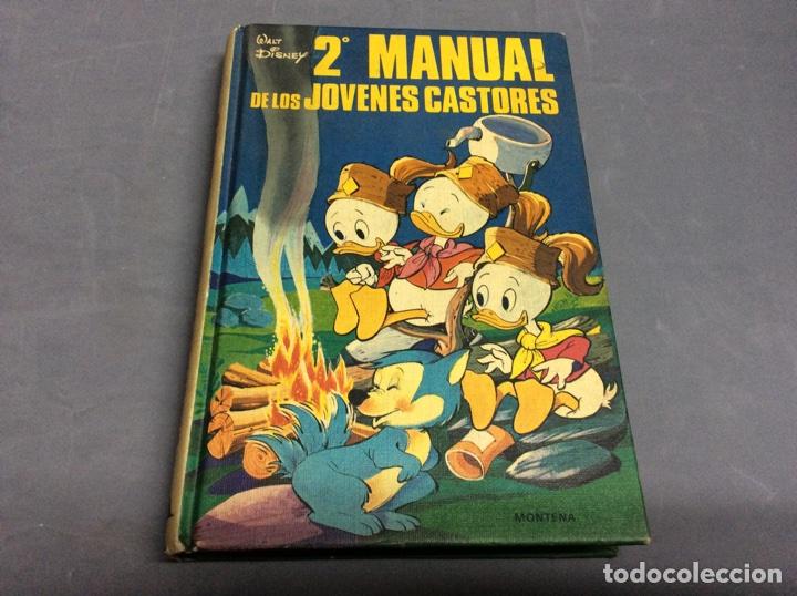 2º MANUAL DE LOS JOVENES CASTORES, WALT DISNEY. -ED. MONTENA. (Tebeos y Comics - Montena)