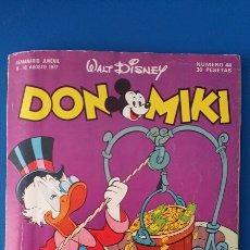 Livros de Banda Desenhada: TEBEO DON MIKI Nº 44 CON EL CUPON. MONTENA WALT DISNEY - 1977 CON REPORTAJE DE MILIKITO. Lote 78023917