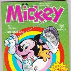 Tebeos: MICKEY Nº 3 - 150 PESETAS - MONTENA / PRIMAVERA - WALT DISNEY. Lote 78270289