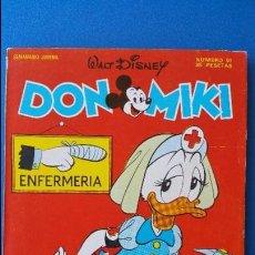 Tebeos: TEBEO DON MIKI Nº 91 MONTENA WALT DISNEY - 1978 CON EL CUPON Y PUBLICIDAD DE AIRGAM BOY. Lote 79625657