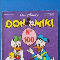 Tebeos: TEBEO DON MIKI Nº 100 MONTENA WALT DISNEY - 1978. EL DRAGON ELLIOTT CON ENRIQUE Y ANA. Lote 79627309