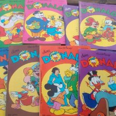 Tebeos: DON DONALD 8 REVISTAS WALT DISNEY AÑO 1979.. Lote 80833515