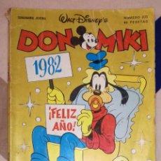 BDs: COMIC DON MIKI, Nº 273: FELIZ AÑO 1982 - MONTENA. Lote 82517072