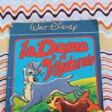 Tebeos: LA DAMA Y EL VAGABUNDO. COMIC MONTENA-CANAL WALT DISNEY...WALT DISNEY......-1981. Lote 89023936