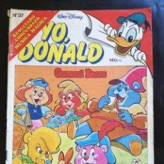 Tebeos: TEBEO COMIC YO DONALD, NÚMERO 37. AÑO 1986. Lote 89614156