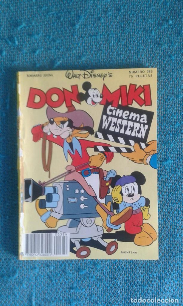 DON MIKI NUMERO 386 (Tebeos y Comics - Montena)