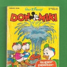 Tebeos: DON MIKI Nº 132 - SEMANARIO JUVENIL - WALT DISNEY PRODUCTIONS. (1979). CON PUNTOS.. Lote 91288465