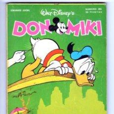 Tebeos: DON MIKI Nº 265 - MONTENA (1981). Lote 96266851