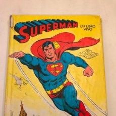 Tebeos: SUPERMAN UN LIBRO VIVO. MONTENA. Lote 96748039