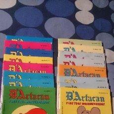 Tebeos: LOTE DE 16 COMICS D'ARTACAN Y LOS TRES MOSQUEPERROS MONTENA . Lote 98507311