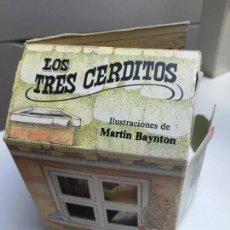 Tebeos: CASA CUENTO LOS TRES CERDITOS - TROQUELADO, ILUSTRACIONES MARTIN BAYNTON - MONTENA - AÑO 1982.. Lote 98851699