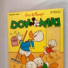 Livros de Banda Desenhada: DON MIKI Nº 210 (MUY NUEVO). Lote 99232239