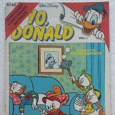 Tebeos: YO DONALD Nº 43 EDITORIAL MONTENA 1987. Lote 99253443