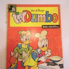 Tebeos: DUMBO - NUM 19 - ED. MONTENA- 1980. Lote 99338900