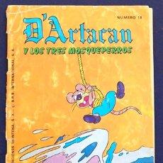 Tebeos: CÓMIC D'ARTACAN Y LOS TRES MOSQUEPERROS, NÚMERO 18. EDICIONES MONTENA,S.A. ISBN 84-7515-380-1.. Lote 100244807