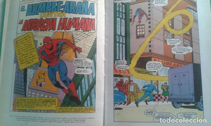 Tebeos: SPIDERMAN Y ANTORCHA EDITORIAL MONTENA 1981 - Foto 4 - 101371399