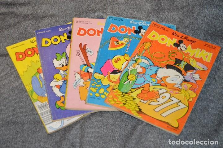 LOTE DE 5 EJEMPLARES DON MIKI - MONTENA - Nº 12, 54, 63, 100 Y 610 - AÑOS 70 - VINTAGE - HAZ OFERTA (Tebeos y Comics - Montena)