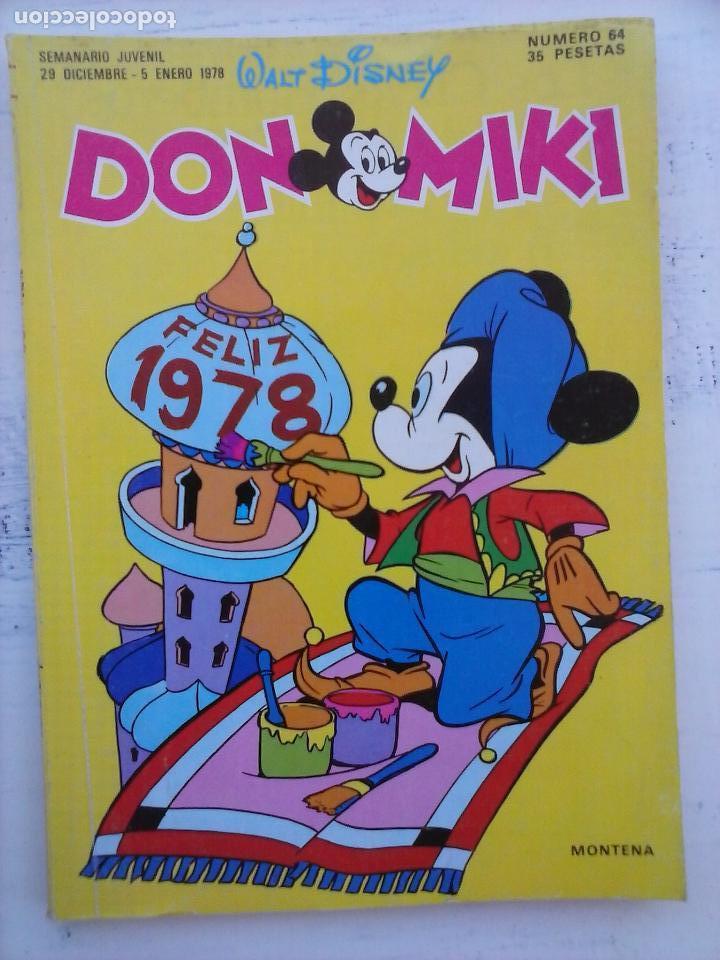 Tebeos: DON MIKI - EDI. MONTENA - LOTE DE 406 TEBEOS EN MUY BUEN ESTADO, VER NUMERACIÓN - Foto 34 - 111059335