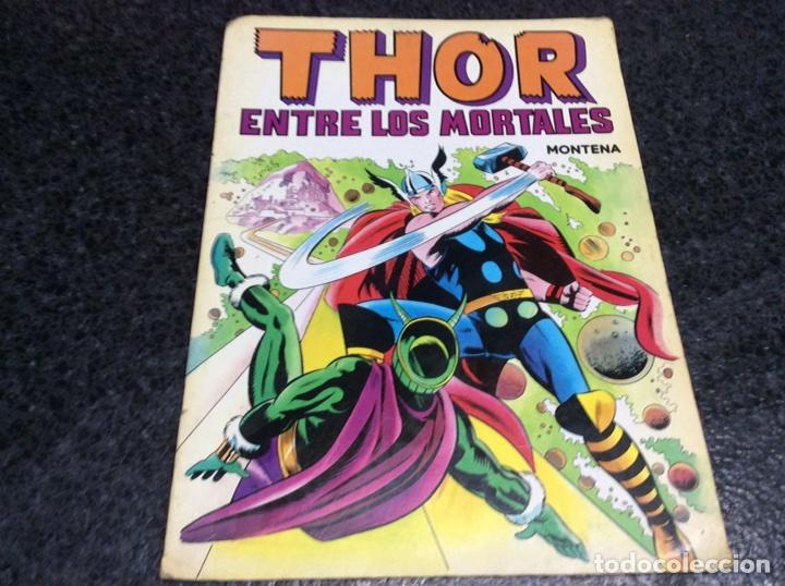 CUENTO THOR ENTRE LOS MORTALES, -ED. EDITORIAL MONTENA 1981 (Tebeos y Comics - Montena)