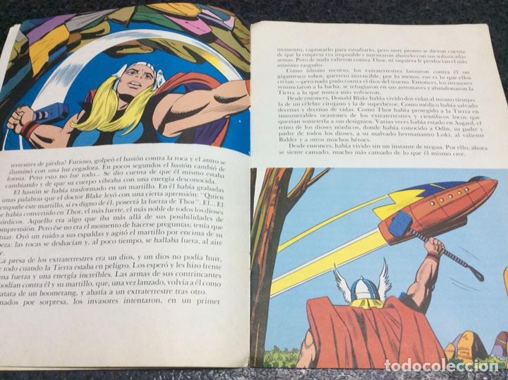 Tebeos: CUENTO THOR ENTRE LOS MORTALES, -ED. EDITORIAL MONTENA 1981 - Foto 3 - 112761915