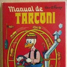 Tebeos: MANUAL DE TARCONI. MONTENA, 1977. NUEVO IMPECABLE!!!. Lote 112930559