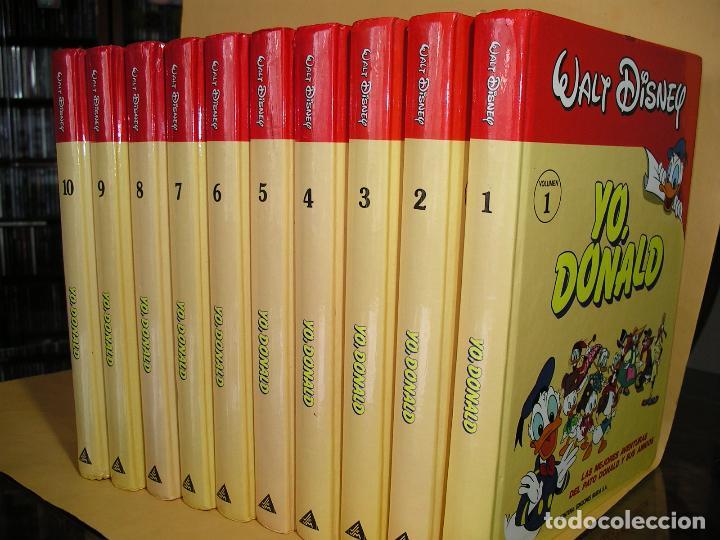 YO DONALD, COLECCIÓN COMPLETA, ED. MONTENA, AÑO 1987, ERCOM (Tebeos y Comics - Montena)