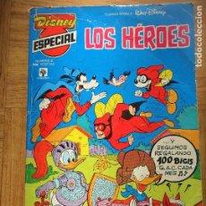 Tebeos: DISNEY ESPECIAL Nº 2 LOS HEROES - TOMO PRIMAVERA -. Lote 113678879
