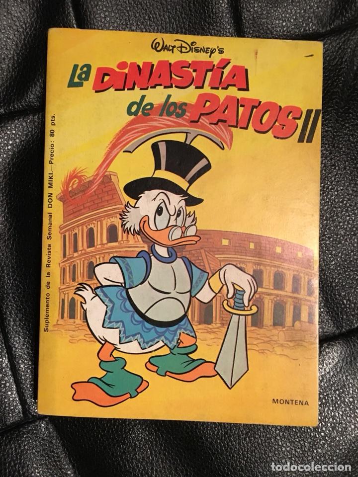 DON MIKI - LA DINASTÍA DE LOS PATOS II - MONTENA (Tebeos y Comics - Montena)