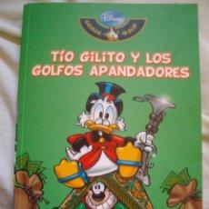 Tebeos: TIO GILITO Y LOS GOLFOS APANDADORES DISNEY SERIE ORO Nº 3 BIBLIOTECA EL MUNDO. Lote 198545543