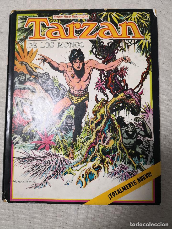 TARZAN DE LOS MONOS POR BURNE HOGARTH 1982 (Tebeos y Comics - Montena)