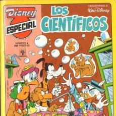 Tebeos: DISNEY ESPECIAL Nº 4 LOS CIENTÍFICOS (PRIMAVERA, 1989). Lote 124034655