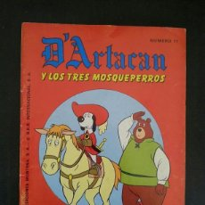 Tebeos: ANTIGUO COMIC DARTACAN Y LOS TRES MOSQUEPERROS AÑOS 80. EDITORIAL EDICIONES MONTENA. NUMERO 11. Lote 128608587