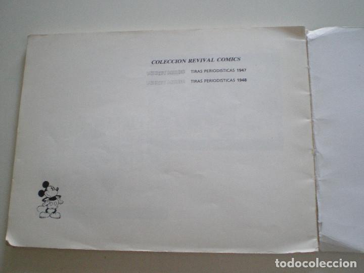 Tebeos: MICKEY MOUSE - Tiras Periodisticas 1947 (Bip-Bip, El Hombre Del 2000) - MONTENA 1987 // WALT DISNEY - Foto 4 - 134183690