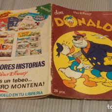 Tebeos: DON DONALD - Nº 27 - MONTENA - 1978 . Lote 134265446
