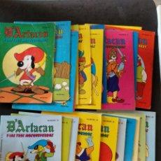 Tebeos: D'ARTACAN DARTACAN Y LOS TRES MOSQUETEROS, COLECCION COMPLETA 1982. MONTENA. Lote 134439186