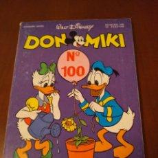 Tebeos: DON MIKI N'100 (PUBLICIDAD MUÑECA LAURA) TIENE CUPÓN. Lote 136259392