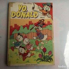 Tebeos: YO, DONALD TOMO RETAPADO - CONTIENE Nº 10, 11, 12, -ED. MONTENA. Lote 137160202