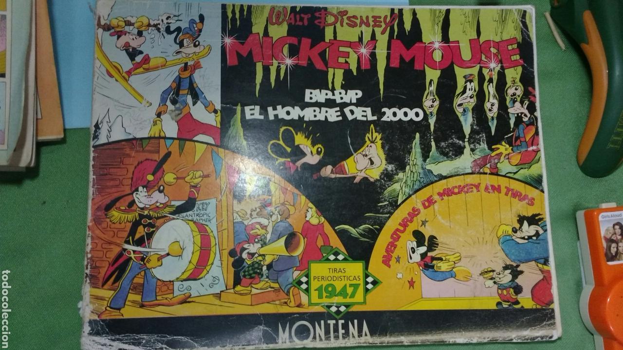 MICKEY MOUSE. TIRAS PERIODISTICAS 1947. MONTENA (Tebeos y Comics - Montena)
