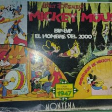 Tebeos: MICKEY MOUSE. TIRAS PERIODISTICAS 1947. MONTENA. Lote 138588913