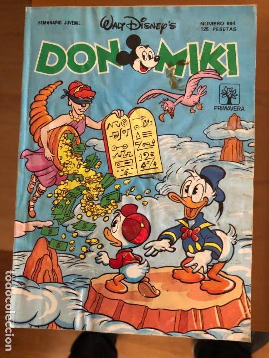 DON MIKI Nº 664 ULTIMO DE LA COLECCION (Tebeos y Comics - Montena)