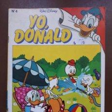 Tebeos: YO, DONALD - Nº4 - 1986. Lote 141441646