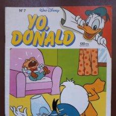 Tebeos: YO, DONALD - Nº7 - 1986. Lote 141441666