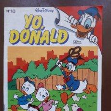 Tebeos: YO, DONALD - Nº10 - 1986. Lote 141441670