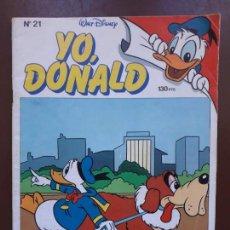 Tebeos: YO, DONALD - Nº21 - 1986. Lote 141441690