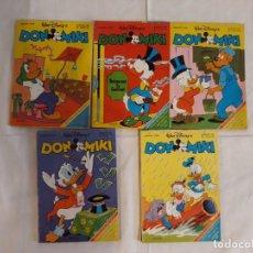 Livros de Banda Desenhada: LOTE DE 5 DON MIKI AÑO 1982 EDITORIAL MONTENA (CON SELECCIONES DEL MUNDIAL 82). Lote 143915666