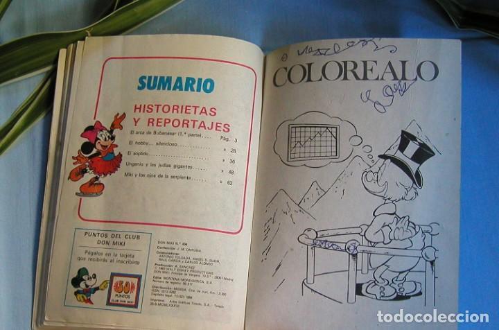 Tebeos: SEMANARIO JUVENIL DON MIKI Nº 494 WALT DISNEY MONTENA AÑO 1986 90 PESETAS - Foto 3 - 147629286